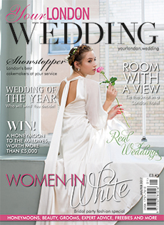 Front cover of Your London Wedding magazine - issue 51