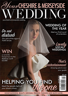 Front cover of Your Cheshire & Merseyside Wedding magazine - issue 37