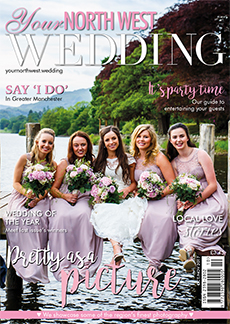 Front cover of Your North West Wedding magazine - issue 46