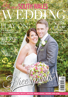 Front cover of Your South Wales Wedding magazine - issue 49