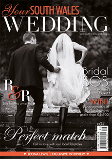 Front cover of Your South Wales Wedding magazine - issue 51