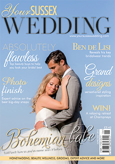 Front cover of Your Sussex Wedding magazine - issue 61
