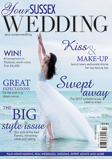 Front cover of Your Sussex Wedding magazine - issue 63