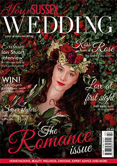 Front cover of Your Sussex Wedding magazine - issue 65
