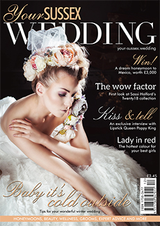 Front cover of Your Sussex Wedding magazine - issue 70