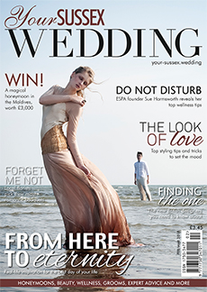 Front cover of Your Sussex Wedding magazine - issue 71