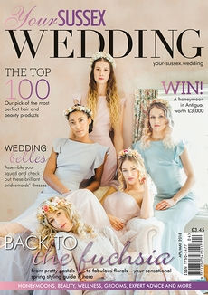 Issue 72 of Your Sussex Wedding magazine