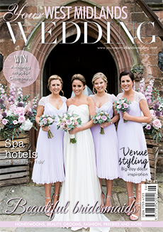 Front cover of Your West Midlands Wedding magazine - issue 44