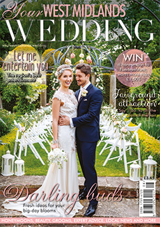 Front cover of Your West Midlands Wedding magazine - issue 45