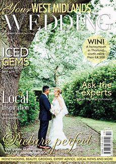 Front cover of Your West Midlands Wedding magazine - issue 46