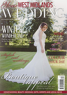 Front cover of Your West Midlands Wedding magazine - issue 47