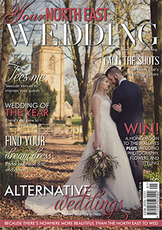 Front cover of Your North East Wedding magazine - issue 24