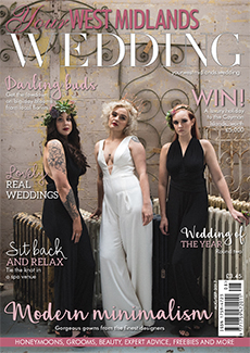 Front cover of Your West Midlands Wedding magazine - issue 51