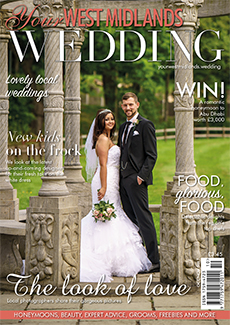 Front cover of Your West Midlands Wedding magazine - issue 52