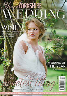 Front cover of Your Yorkshire Wedding magazine - issue 25