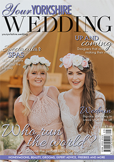 Front cover of Your Yorkshire Wedding magazine - issue 26