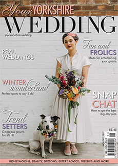 Front cover of Your Yorkshire Wedding magazine - issue 27