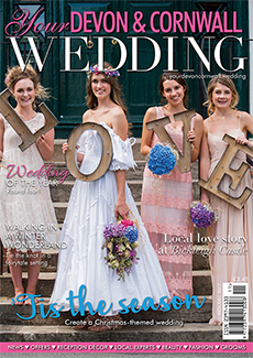 Front cover of Your Devon and Cornwall Wedding magazine - issue 10