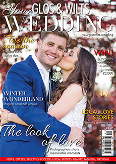 Front cover of Your Glos & Wilts Wedding magazine - issue 6