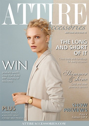 Issue 70 of Attire Accessories magazine