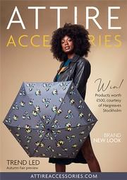 Issue 72 of Attire Accessories magazine