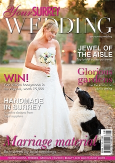 Issue 72 of Your Surrey Wedding magazine