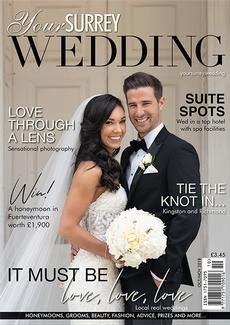 Issue 73 of Your Surrey Wedding magazine