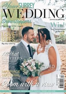 Issue 74 of Your Surrey Wedding magazine