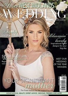 Front cover of Your West Midlands Wedding magazine - issue 56