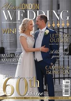 Issue 60 of Your London Wedding magazine