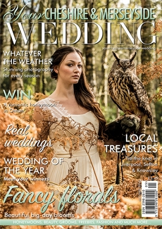 Front cover of Your Cheshire & Merseyside Wedding magazine - issue 39