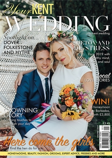 Issue 82 of Your Kent Wedding magazine