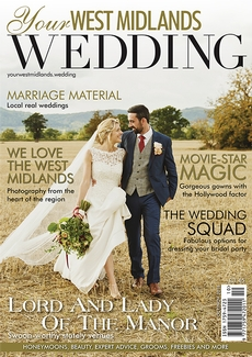 Issue 58 of Your West Midlands Wedding magazine