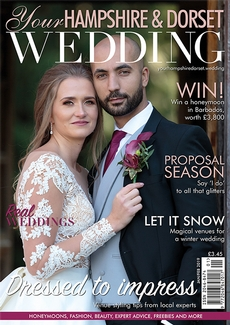 Issue 72 of Your Hampshire and Dorset Wedding magazine