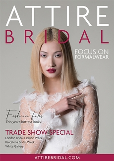 Attire Bridal magazine - This issue