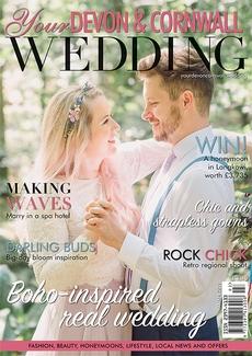 Issue 18 of Your Devon and Cornwall Wedding magazine