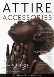 Issue 80 of Attire Accessories magazine