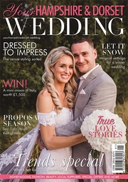 Subscribe to Your Hampshire & Dorset Wedding magazine