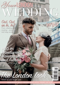 Issue 69 of Your London Wedding magazine