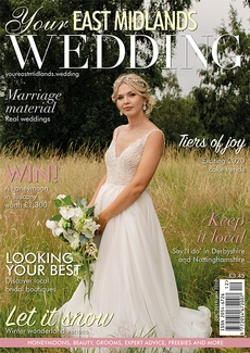 Issue 35 of Your East Midlands Wedding magazine
