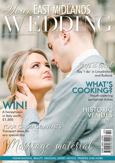 Issue 36 of Your East Midlands Wedding magazine