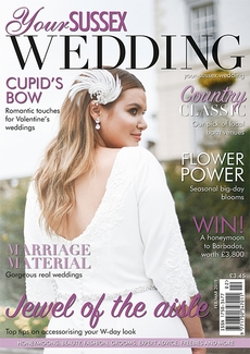 Issue 77 of Your Sussex Wedding magazine