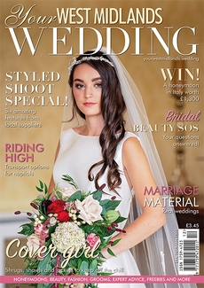 Issue 65 of Your West Midlands Wedding magazine