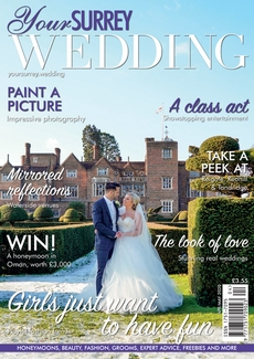 Issue 82 of Your Surrey Wedding magazine