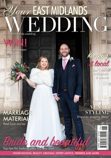 Issue 38 of Your East Midlands Wedding magazine
