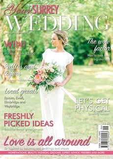 Issue 83 of Your Surrey Wedding magazine