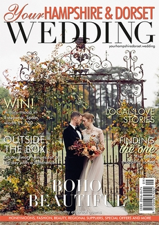 Issue 82 of Your Hampshire and Dorset Wedding magazine