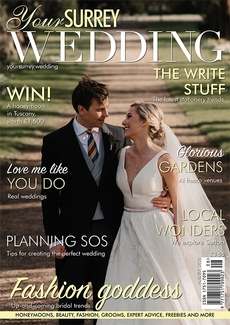 Issue 84 of Your Surrey Wedding magazine