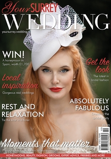 Issue 85 of Your Surrey Wedding magazine