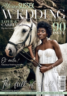 Issue 90 of Your Sussex Wedding magazine